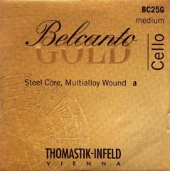 Thomastik BELCANTO / BELCANTO GOLD A Saite für Cello