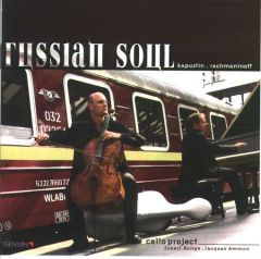 CD Celloproject Russian Soul Eckart Runge und Jacques Ammon